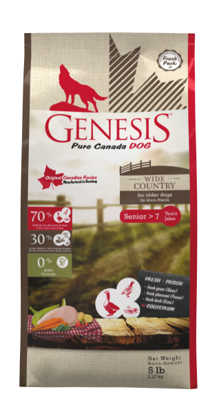 Genesis Pure Canada Wide Country Senior Hundefutter