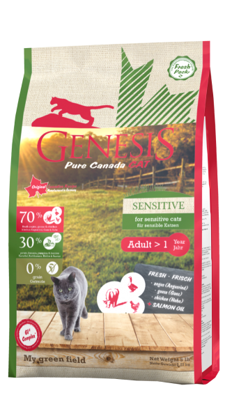Genesis Pure Canada Cat Sensitive My Green Field