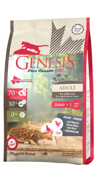 Genesis Pure Canada Cat Adult My Wild Forest